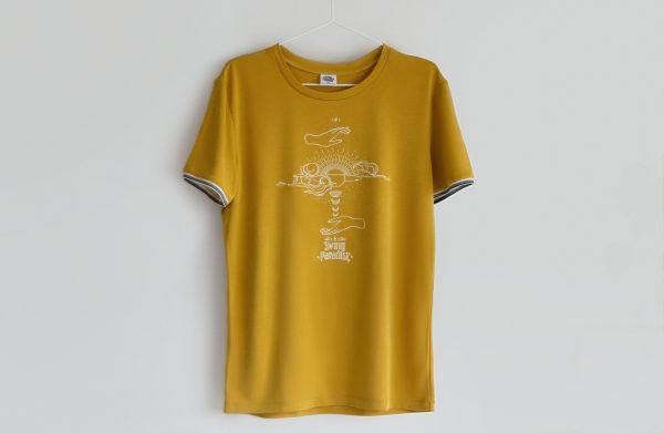 Swing Paradise T-Shirt Men Yellow-min